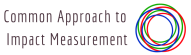 Common Approach to Impact Measurement's logo.